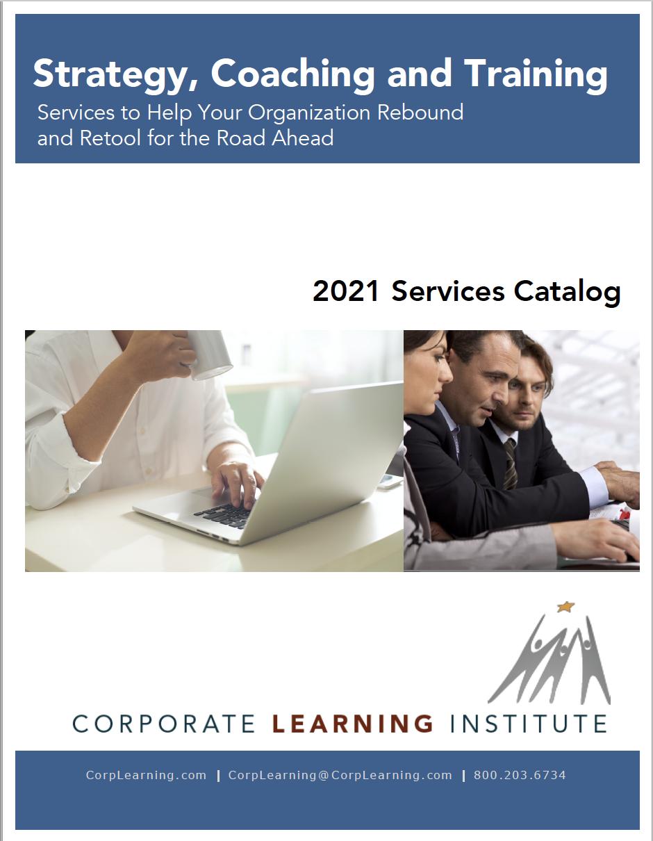 2021 CLI Services Catalog